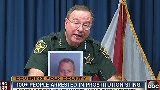 Polk deputies arrest more than 100 in 6-day human-trafficking & prostitution operation - Video