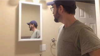 Horrifying haunted mirror captured on camera! - Video