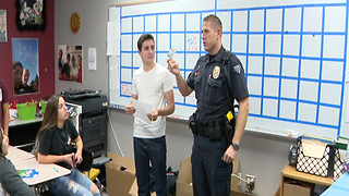 Students and police team up on website to tackle tough issues - Video