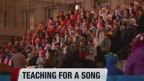 Teaching for a song