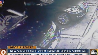 New surveillance video released in sextuple shooting in Baltimore - Video