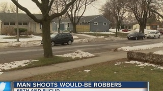 17-year-old shot while committing robbery on Milwaukee's SW side - Video