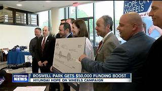 Roswell Park gets $50,000 funding boost - Video