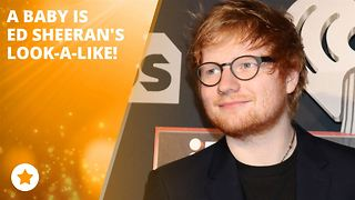 Ed Sheeran has a 2-year-old doppelganger!