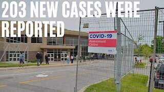Ontario's New COVID-19 Cases Spike Above 200 For The First Time In Weeks