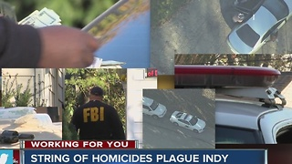 String of homicides plague Indy - Video