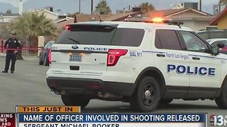 North Las Vegas sergeant identified after man shot during barricade - Video