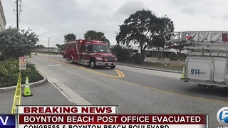Table salt causes post office evacuation - Video