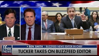 Tucker Carlson rips BuzzFeed editor about debunked 'bombshell' report