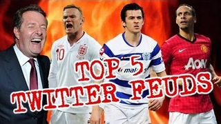 Top 5 Twitter Fueds - Video