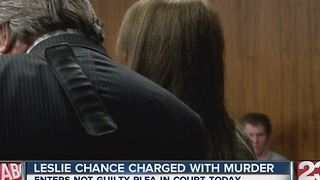 Leslie Chance charged with murder - Video