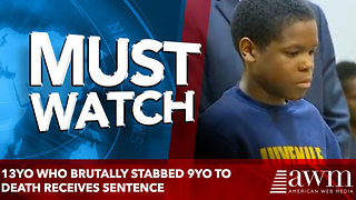 13yo Who Brutally Stabbed 9yo To Death Receives Sentence [VIDEO] - Video