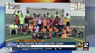 Baltimore Blast Soccer Camp says Good Morning - Video