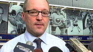 Sabres head Coach Dan Bylsma talks Guhle, Gorges, Kulikov, etc. - Video