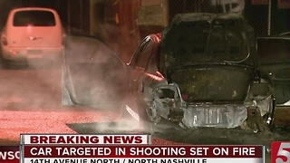 Police Investigate Link Between Car Fire, Fatal Shooting - Video