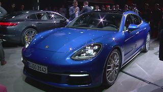 World Premiere: The Porsche Panamera - Video