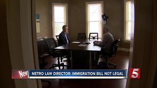 Mayor and Sheriff: Metro Council Should Reconsider Immigration Bill - Video