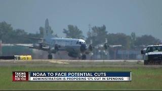 NOAA bracing for budget cuts - Video