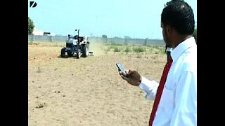 Cell-Phone Operated Tractor - Video