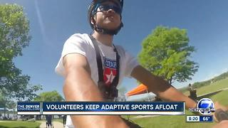 Volunteers keep the athletes going for Denver Parks & Rec's adaptive sports program