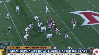 Miami RedHawks are bowl-eligible after 0-6 start - Video