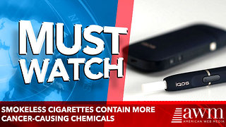Smokeless cigarettes contain more cancer-causing chemicals - Video