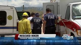 Deputies rescue ailing hiker - Video