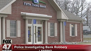 Fifth Third bank robbed, cash recovered - Video