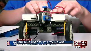 Building robots at a young age - Video