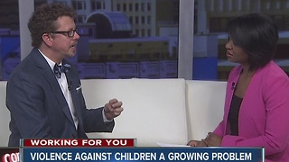 Violence against children a growing problem - Video