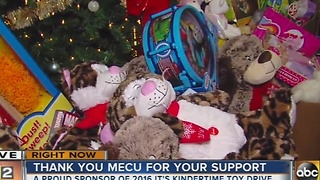 ABC2 News It's Kindertime Toy Drive is in its 18th year - Video