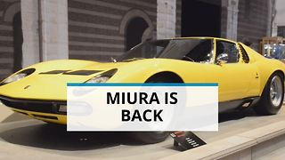 The return of a legend: Lamborghini Miura - Video