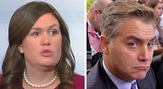 Sarah Sanders: Jim Acosta should act like an adult in WH