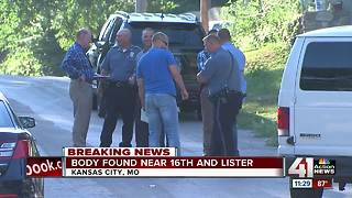 KCPD investigating after dead body found in east KCMO alley - Video