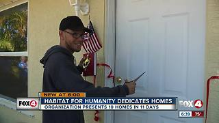 Habitat for Humanity presents 10 homes in 11 days - Video