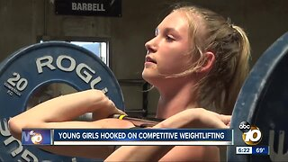 Youth competitive weightlifting