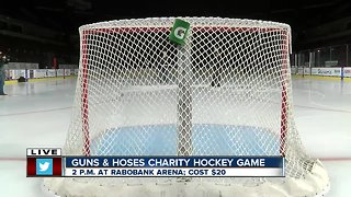 First responders to host charity hockey game at Rabobank Arena