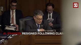 Al Franken Resigns Amid Sexual Harassment Allegations - Video
