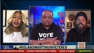'Bruh, You Got Played': Roland Martin Reacts To Ice Cube Still Defending Trump's Platinum