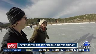 Ice skating to return to Evergreen Lake on Friday
