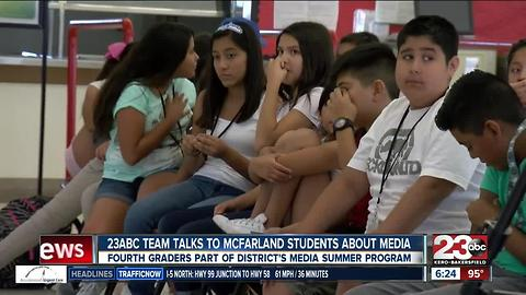 23ABC team talks to McFarland students about media