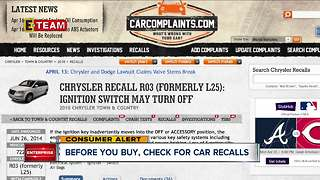 How to check for a recall before you buy a car - Video