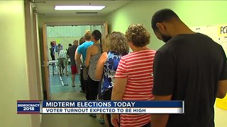 Voter turnout expected to be high for midterm elections