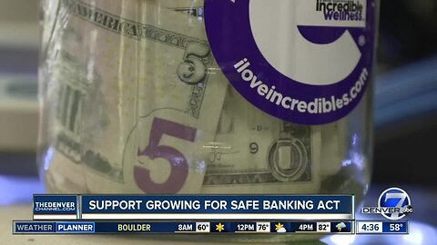 Support growing for Safe Banking Act