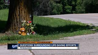 Questions surrounding delayed life-saving efforts