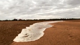 Gascoyne River Flows Again After Heavy Rain