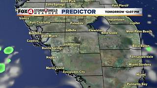 Isolated Storms Possible Sunday