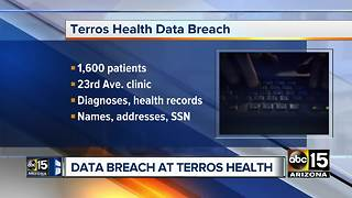 1,600 patients potentially impacted by Terros Health data breach - Video