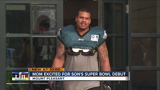 Riverside High School student to play in the Super Bowl - Video