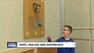 12-year-old boy wins battle against leukemia - Video